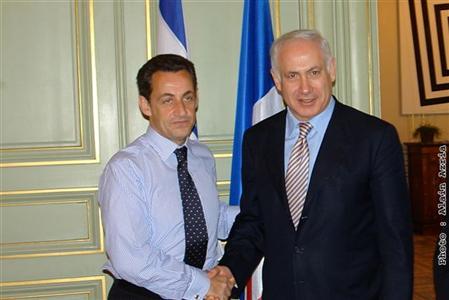 Sarkozy, premier ministre d'Israël?