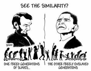 obama slavery