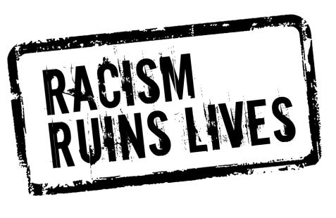 Racism Ruins Lives logo
