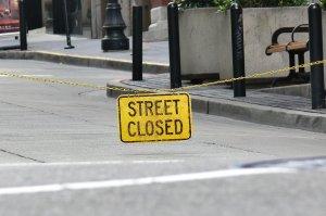 street closed
