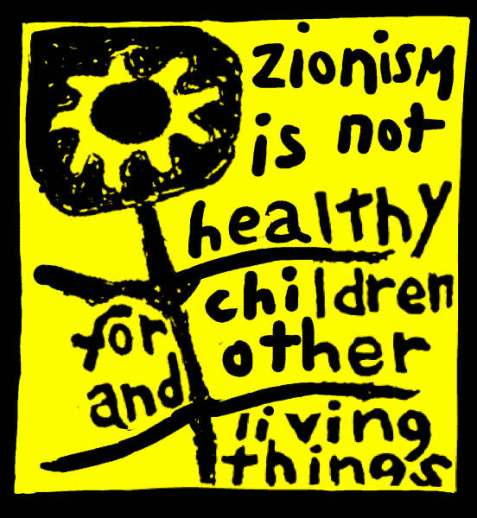 zionism is not healthy