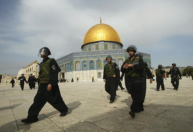 Mosque Aqsa Surrounded Masjid al Aqsa Surrounded