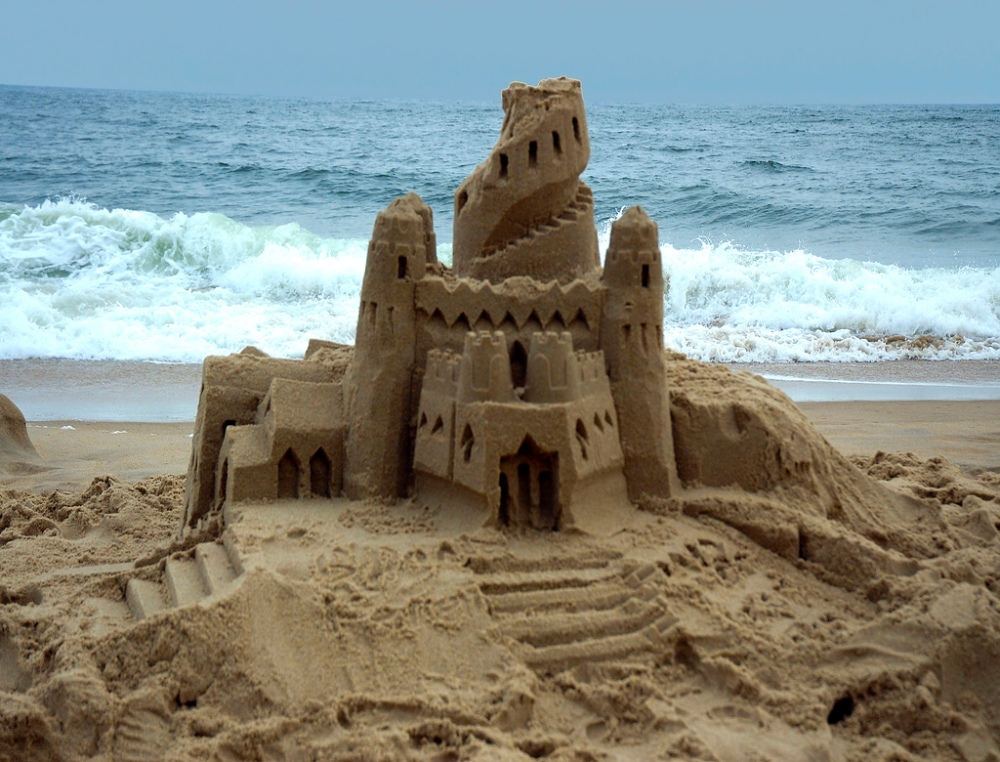 A HOME IS NOT A SAND CASTLE