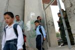 PALESTINIAN CHILDREN ARRESTED FOR WALKING NEAR APARTHEID WALL