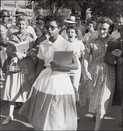 Elizabeth Eckford, Little Rock 9