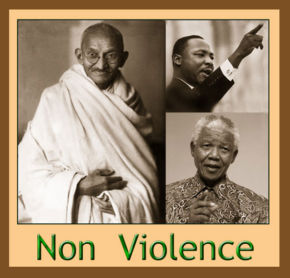 gandhi and nonviolence essay