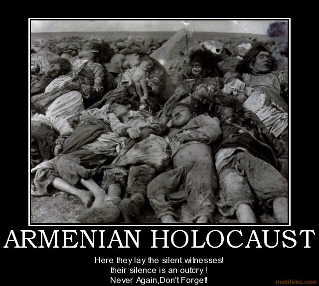 THE ARMENIAN HOLOCAUST AND  THE CRUCIFIXION