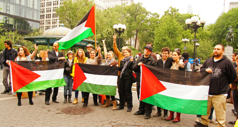 FROM UNION SQUARE TO WALL STREET, THE NAKBA REMEMBERED IN NEW YORK AND PALESTINE (2/6)