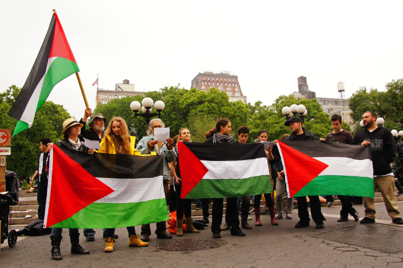 FROM UNION SQUARE TO WALL STREET, THE NAKBA REMEMBERED IN NEW YORK AND PALESTINE (3/6)