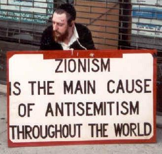 Image result for zionist anti semitic