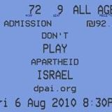 don't play apartheid