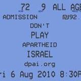 don't play apartheid
