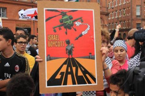 gaza-protest-toulouse-france