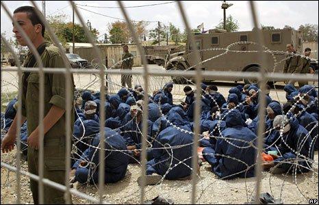 Palestinian prisoners in Israel's Mini Gitmo