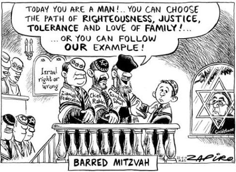 Goldstone barred from grandson's Bar Mitzvah Published in Mail & Guardian on 22 Apr 2010