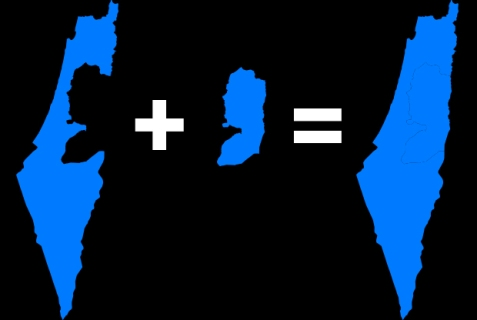 Annexation of West Bank=One State Solution