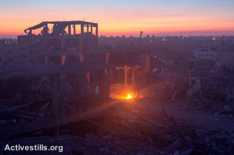 Gaza aftermath, Gaza city, 6.9.2014