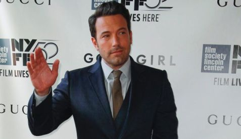Ben Affleck at the 52nd New York Film Festival opening night gala presentation of the movie 'Gone Girl' in New York, Sept. 26, 2014. Photo by Reuters