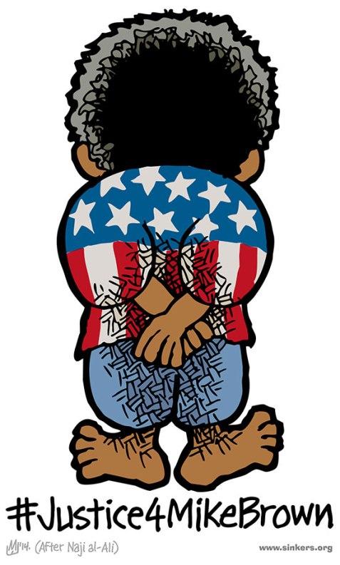 American Handala By Mike Flugennock