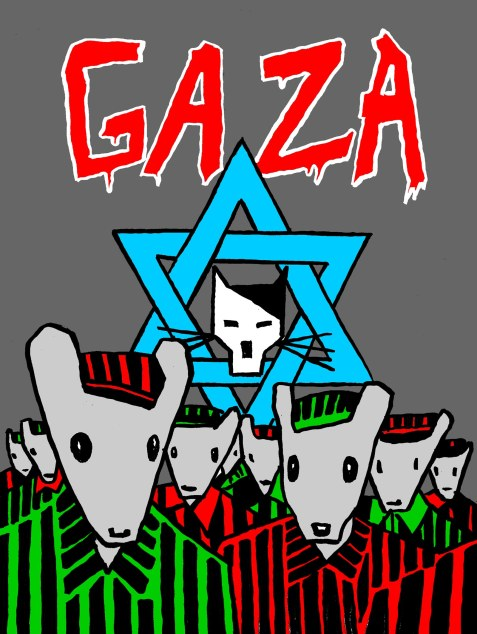 Gaza – Maus Image created by Gianluca Costantini