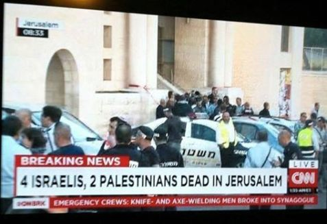 Palestine suddenly exists when there is a terrorist attack