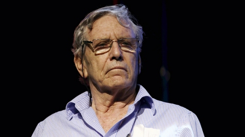 Amos Oz: We need to end the occupation (Photo: Haim Zach)