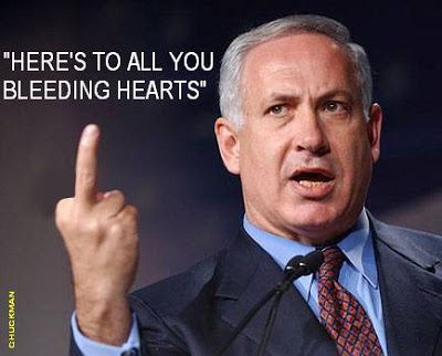 NETANYAHU - BLEEDING HEARTS