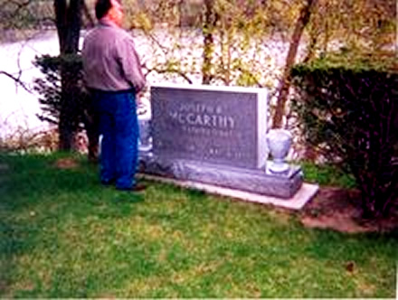 No matter how many times McCarthy's grave gets pissed on he still comes up smelling like a rose.