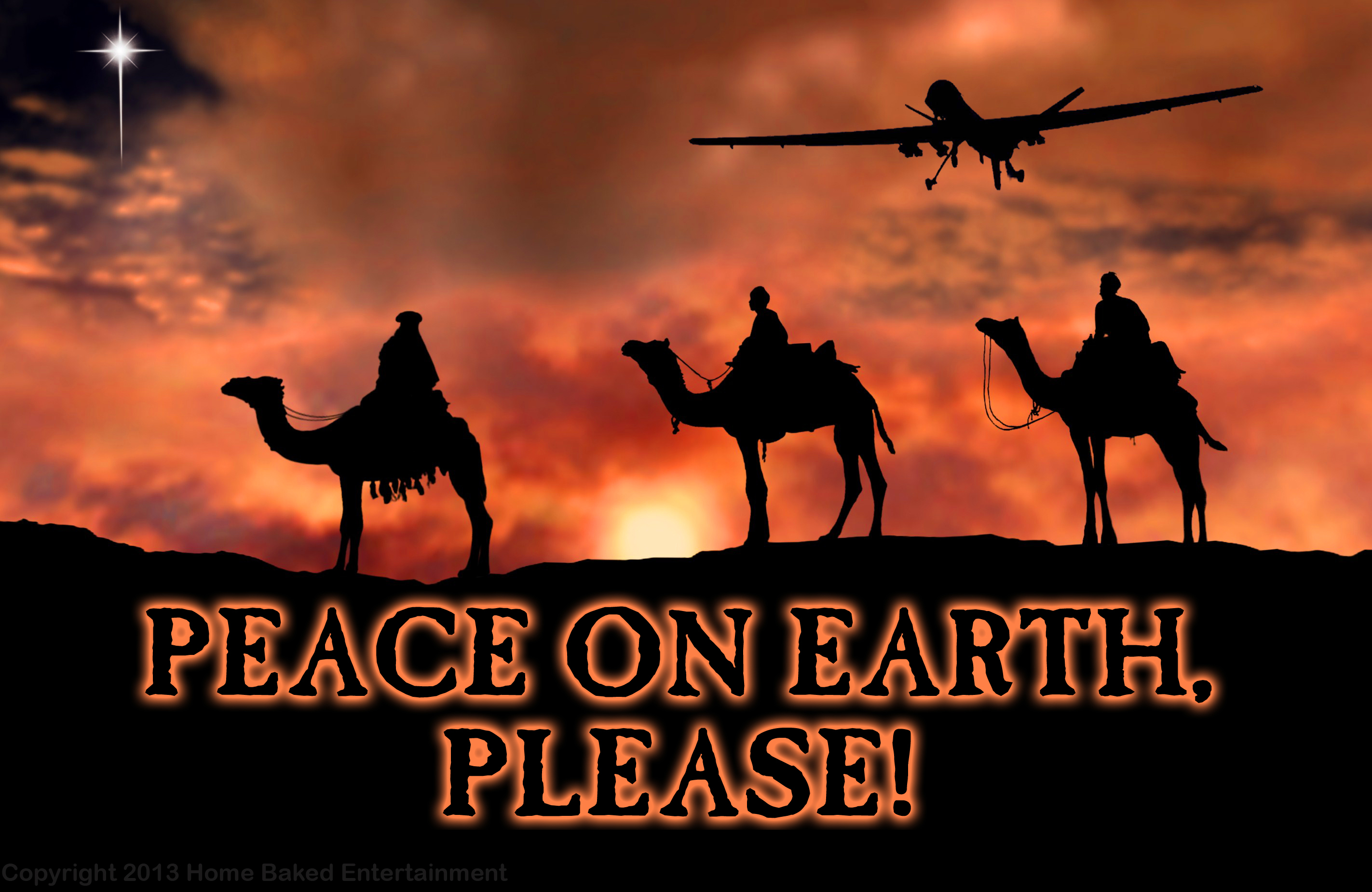 MERRY CHRISTMAS AND HOPES FOR PEACE ON EARTH | Desertpeace