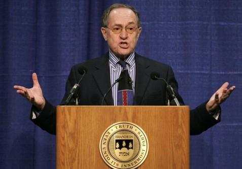 Famed lawyer Alan Dershowitz. (photo credit:REUTERS)