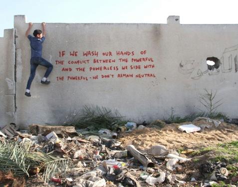 Photo: Banksy)