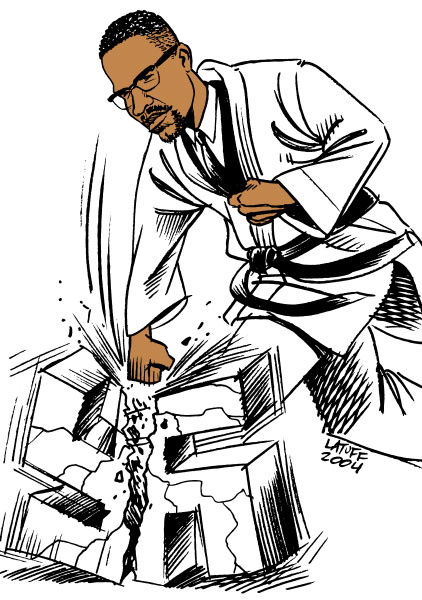 If you aren't careful, the newspapers will have you hating the people who are being oppressed and loving the people who are doing the oppressing. Remembered by Carlos Latuff