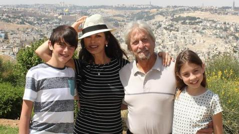 The Douglas family in Jerusalem in June 2014 (Photo: Gabriel Smith and Yehiel Solomon)