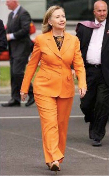 Is that a yoga outfit . . . or a prison jumpsuit starter kit?