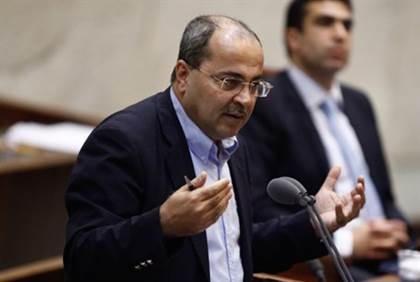 MK Ahmed Tibi  Flash 90