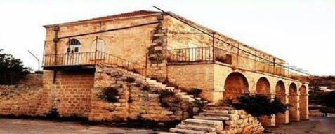 Home of Jamil Al Husseini, 'Ein Siniya, Palestine (Photo credit: DHIP)