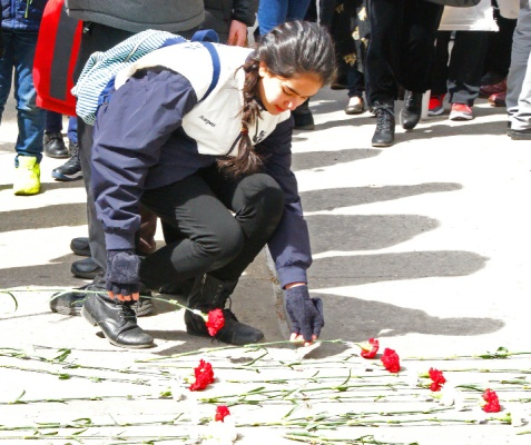 And red carnations for the more recent victims in Pakistan ... see the poem that follows