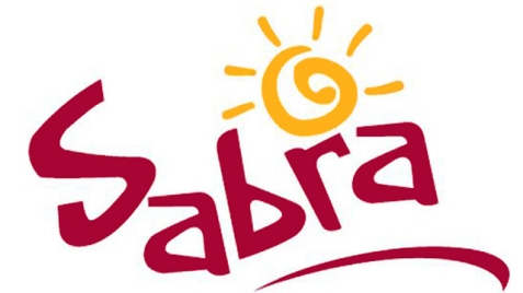 Sabra's logo in the United States