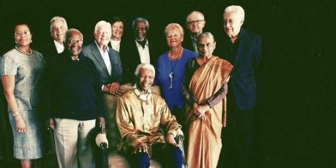 Group photo of the 'Elders' from May, 2010