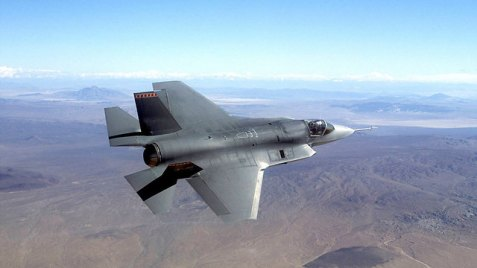 F-35 stealth fighter jet, a possible price for Israeli silence on Iran? (Photo: AP)