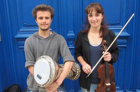 Bastien Anthoine and Philomène Constant