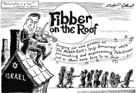 Image by Zapiro in The Times