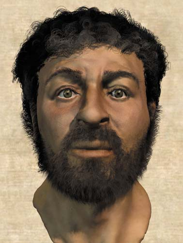 Using methods similar to those police have developed to solve crimes, British scientists, assisted by Israeli archeologists, have re-created what they believe is the most accurate image (above) of what the historical Jesus looked like.