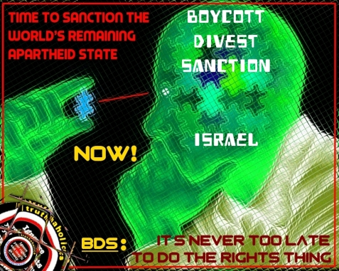 Don't fall victim to the ziolies .... Support BDS .... It's the right thing to do!