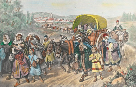 Jews leaving Spain in 1492