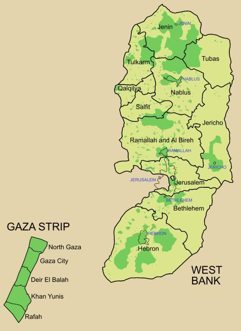 Palestinian territories الأراضي الفلسطينية From Wikipedia