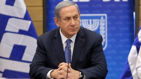 Netanyahu, not happy with the Iran deal. (Photo: Alex Kolomisky)