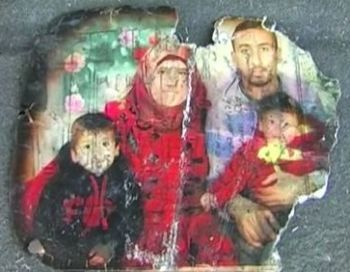 What's left of the Dawabsha family portrait