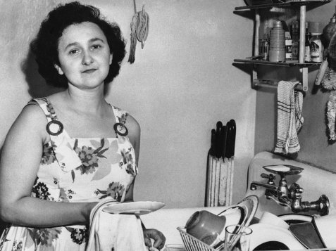 Ethel Rosenberg during happier times ...