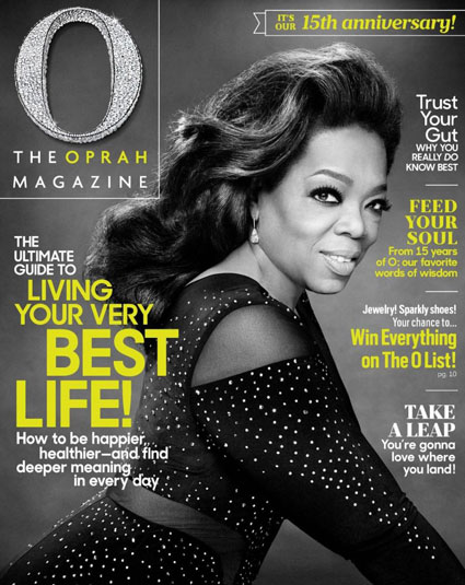 The star had worn Leviev diamonds on the cover of O magazine's May issue, the 15th anniversary edition. But the BDSniks smear Leviev with charges of stealing Palestinian land and committing human-rights abuses in Angola.